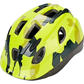 BBB Boogy BHE-37 Cykelhjelm Børn, camouflage/neon yellow